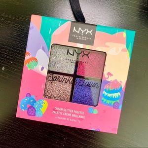 NYX Sprinkle Town Cream Glitter Palette